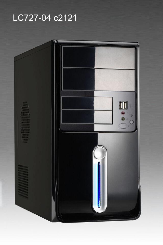 Komplett PC Win 7 Pro 32 Intel Pentium 2x 3,0GHz 4GB 1TB ASRock System Rechner