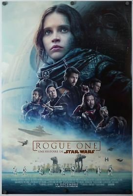 Rogue One a Star Wars Story - original DS movie poster D/S 27x40 - FRENCH Final