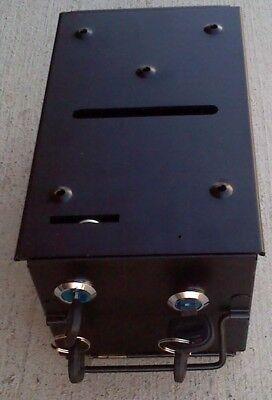 Drop or toke box metal with bracket