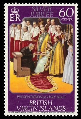 VIRGIN ISLANDS 319 (SG366) - Queen Elizabeth II Silver Jubilee (pf90916)