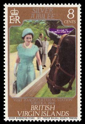 VIRGIN ISLANDS 317 (SG364) - Queen Elizabeth II Silver Jubilee (pf90914)