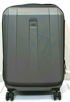 Delsey Paris Carry-On Suitcase Hard Shell Spinner I'ntl Helium Shadow 2.0 21""