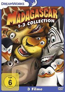 Madagascar Box Collection 1-3 * NEU OVP * 3 DVDs * (Teil 1+2+3, Madagaskar)