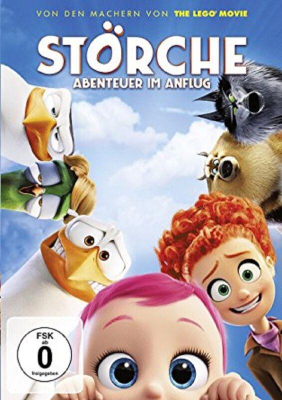 Störche – Abenteuer im Anflug DVD - NEU OVP