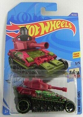 2020 HOT WHEELS Mattel HW Ride-Ons 3/5 Dark Red Tanknator 98/250 GHC69