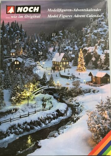 "Noch 45991 Tt Gauge "" Advent Calendar "" 2018 With 28 Figurines # New IN Boxed ##"