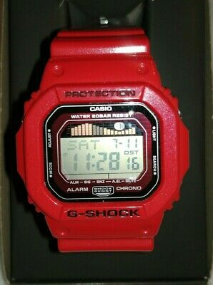 Casio G-shock G-LIDE Tide Red Mens Digital Watch GLX-5600 Model 3151