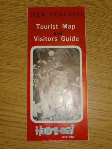 New Zealand Travel Map and Visitor