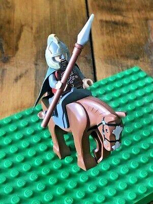 Lego Lord of The Rings Eomer Minifigure 9471 Uruk-Hai Army LOTR Rohan Minfig