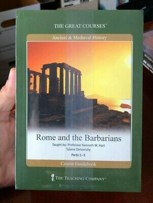 """New Sealed """"Rome and the Barbarians"""" The Great Courses - The Teaching Company"""
