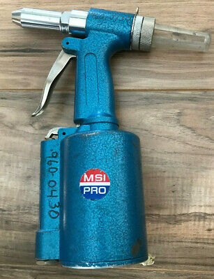 Pneumatic Rivet Gun Air Hydraulic Setter Riveter Msi Pro