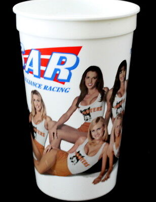 Vtg Sexy Hooters Girl Uniform Ultimate Pit Crew Racing Plastic Collectors Cup