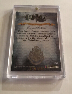 Authentic Harry Potter Costumes (Harry Potter Authentic Costume Card Worn By Isabella Laughland)