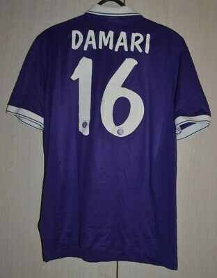 AUSTRIA WIEN MATCH ISSUE SIGNED 2014 2015 FOOTBALL SHIRT JERSEY 16 DAMARI ISRAEL image