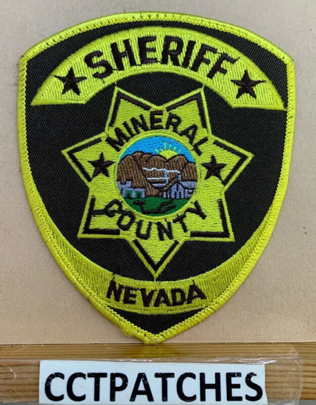 MINERAL COUNTY, NEVADA SHERIFF (POLICE) SHOULDER PATCH NV
