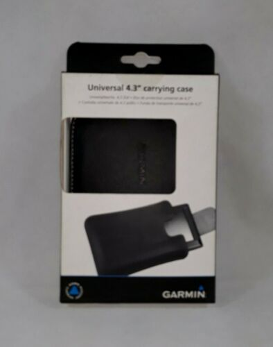 """Garmin Universal 4.3"""" Faux Leather Carrying Case New In Box"""
