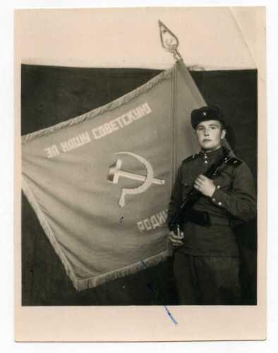 Soviet Red Army Award - PHOTO 1956  VERY RARE Artifact Soviet Military Service