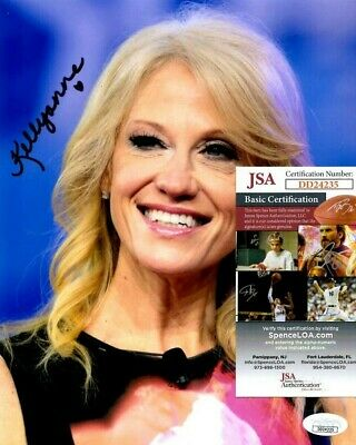 Kellyanne Conway Signed 8x10 Photo w/ JSA COA #DD24235 Donald Trump