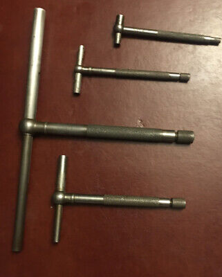 4 Vintage Telescoping Snap Gauge 3 Lurking 1 Starrett No. 229 Smallest