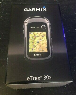 Garmin eTrex 30x Outdoor GPS WAAS-enabled & GLONASS Support! Brand New in Box!
