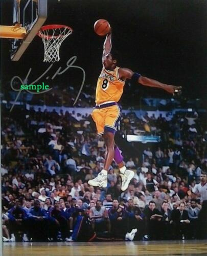 KOBE BRYANT #1 REPRINT PHOTO 8X10 SIGNED AUTOGRAPHED PICTURE MAN CAVE LAKERS