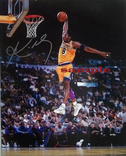 KOBE BRYANT Signed  NBA Autographed 8X10 Photo Reprint