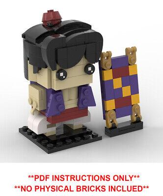 NO BRICKS INCLUDED Lego Brickheadz Tigger MOC PDF Instructions Only