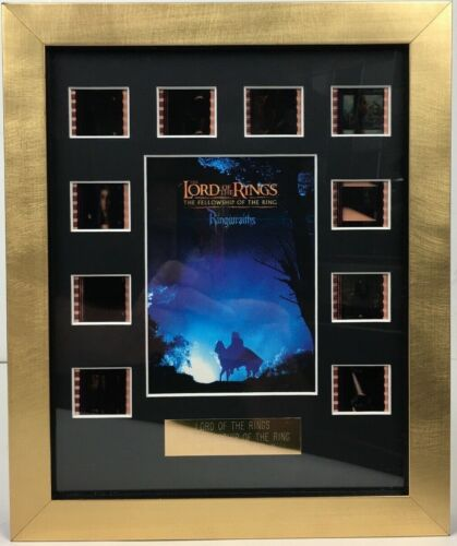 LOTR Fellowship Of The Ring SE 2003 10x35mm Film Cell MActivated Backlit Display