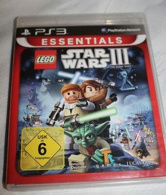 Playstation 3 Spiele Lego Star Wars 3 (Legos Star Wars Spiele)