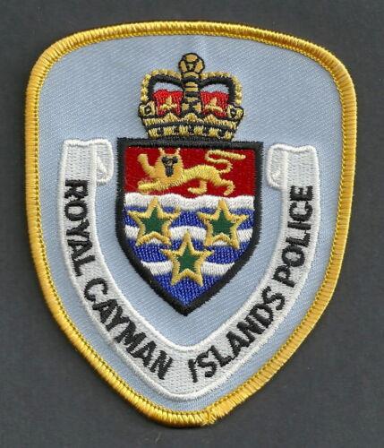 ROYAL CAYMAN ISLANDS POLICE SHOULDER PATCH