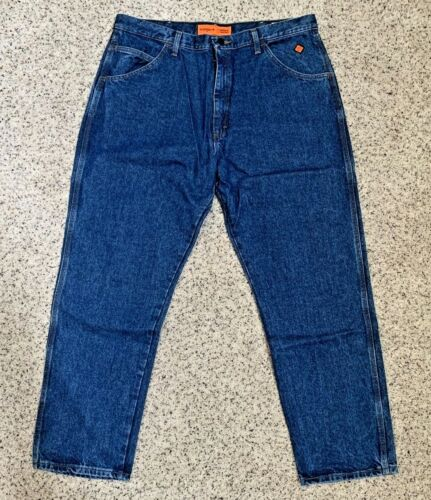 Wrangler Riggs Workwear Mens Relaxed Fit Jean FR3W050 Flame Resistant Size 40x32
