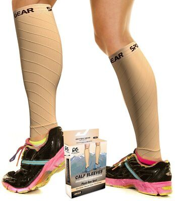 Calf Compression Sleeve for Men  Women, Best Footless Socks for Shin Splints