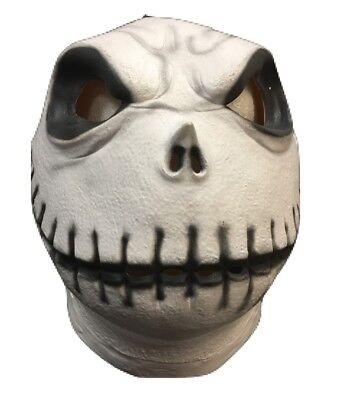 Latex Masken Uk (UK Jack Skelett Nightmare Before Maske Halloween Kostüm Cosplay)