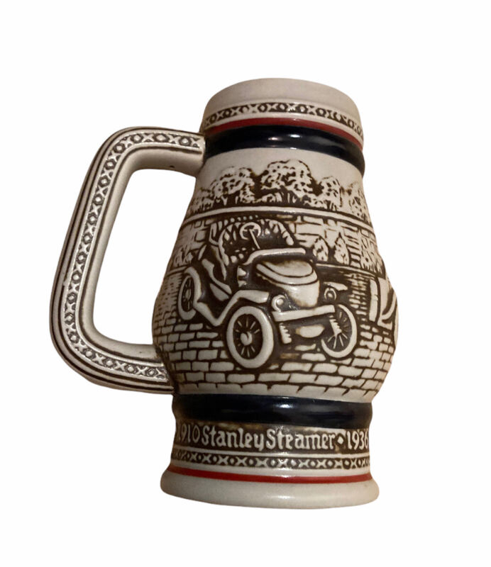 Vintage Avon Collectible Mug Automobile Beer Stein Old Car Cup 1982