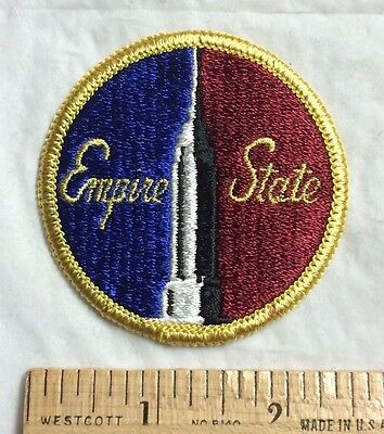New York City NYC Empire State Building Souvenir Round Patch