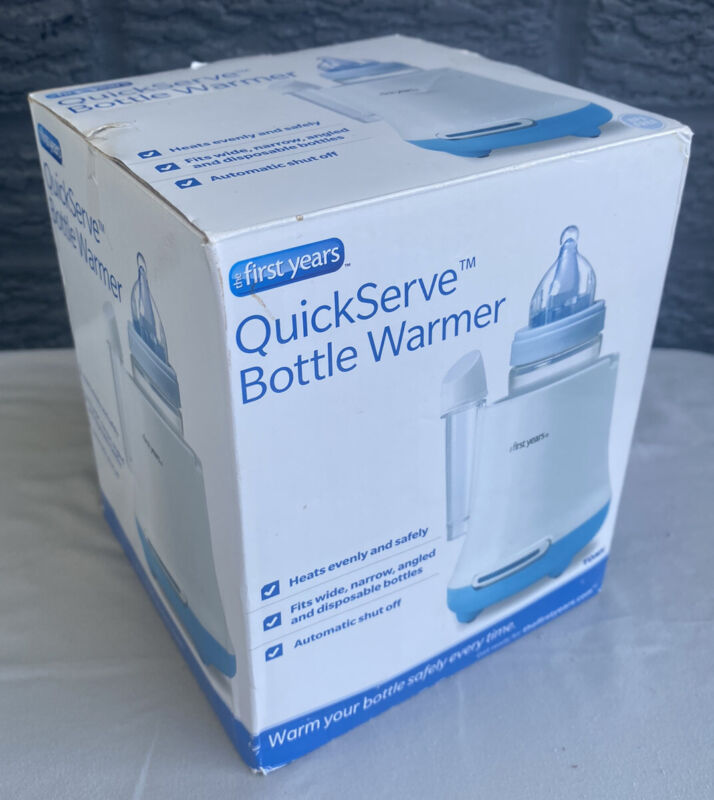 The First Years Quick Serve Baby Bottle Warmer