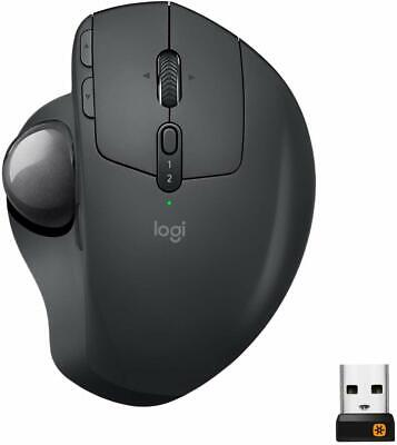 Logitech MX Ergo - Wireless Trackball Mouse - with Unifying Receiver