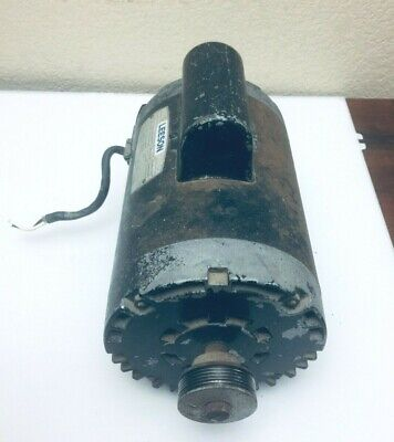 Sears Craftsman Air Compressor Motor Leeson Model M6c34db8a Hp 2 230 Volts