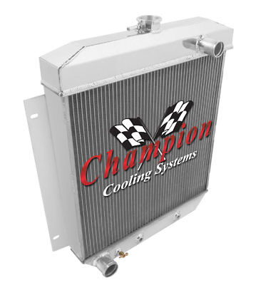 1954 1955 1956 Ford Cars 3 Row Champion Advanced All Aluminum Radiator
