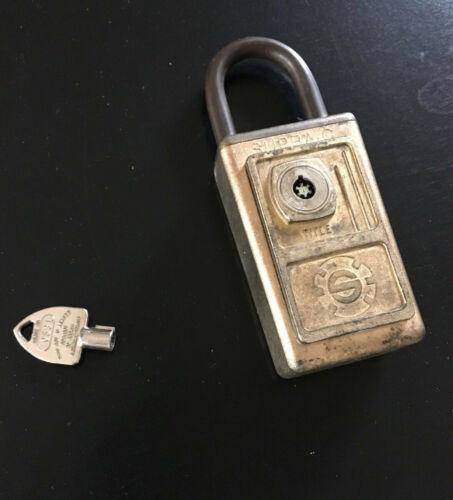 Supra-C Title High Security Padlock w/ Key Locksport Lock Tubular
