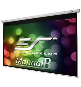 Elite Screens Manual B 100in Projector screen