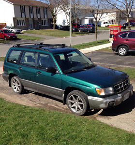 Very clean 98 forester sport