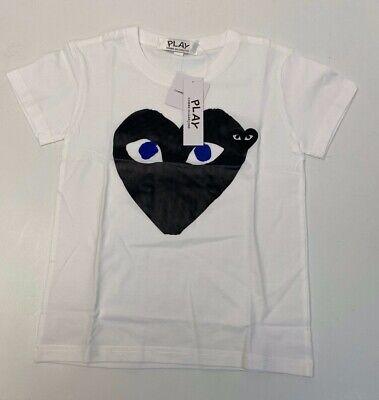 Play Comme Des Garçons Girls Short Sleeve T-Shirt Size M #51A