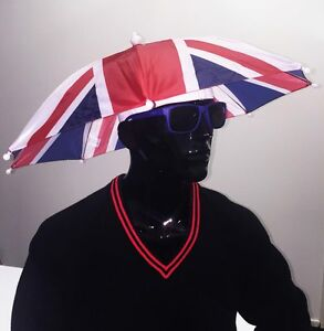 Union Jack Umbrella Hat - Come on England!