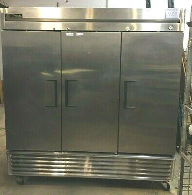 Cooler Refrigerator True T-72 Rich-in 3 Solid Doors 78-32-83.5 H 2