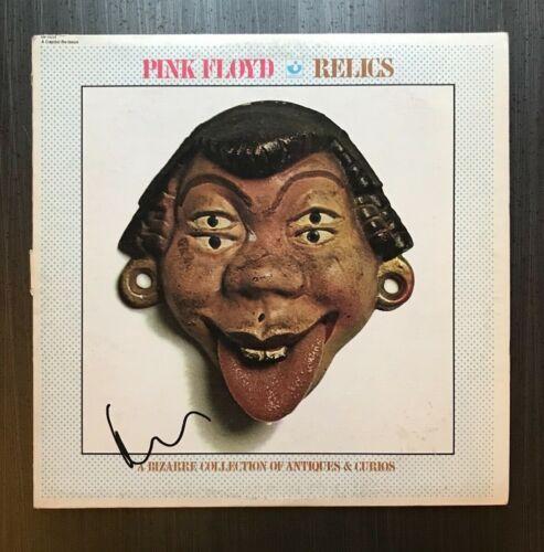* NICK MASON * signed autographed vinyl album * PINK FLOYD * RELICS * 1