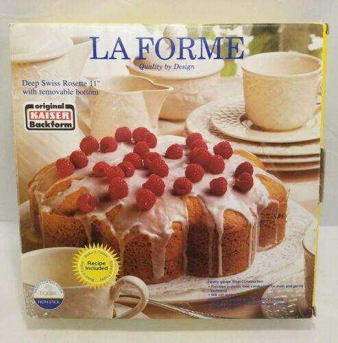 "Vintage Kaiser Bakeware La Forme Deep Swiss Rosette 11"" Pan"