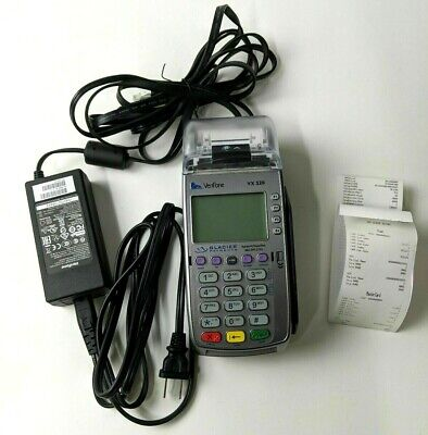 Verifone M252 Credit Card Machine -vx520 Emv