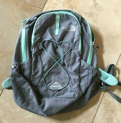 THE NORTH FACE Backpack-Women Jester-Grey-Green ~ UNISEX