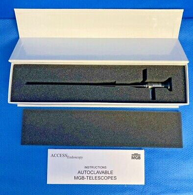 Access Endoscopy 4mm 0 Autoclavable Sinus Scope Ent Storz Fitting Arthroscopy